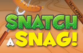 Crocodile Bingo - Snatch a Snag